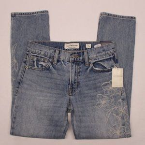 Lucky Brand Sienna Slim Boyfriend jeans floral w27